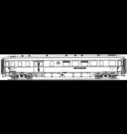 NVM 29.05.035 NS bagage/resauratierijtuig RD 7652 - 7660 voor spoor 0