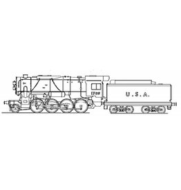 """NVM 2-8-0 locomotief """"Consolidation"""" voor spoor H0"""