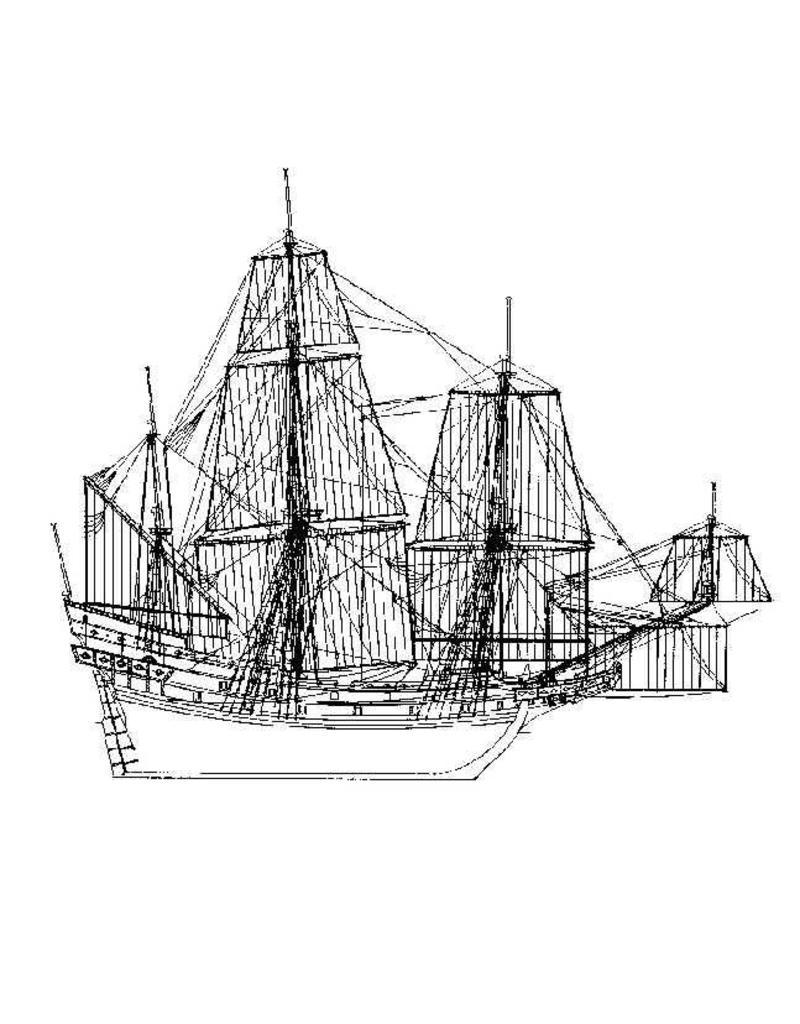 """NVM 10.00.029B VOC schip """"Geunieerde Provintien"""" (1603) - CD met tekeningen"""