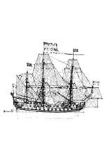 """NVM 10.01.006D """"7 Provincien"""" (1665) (II) verbeterd lijnenplan"""
