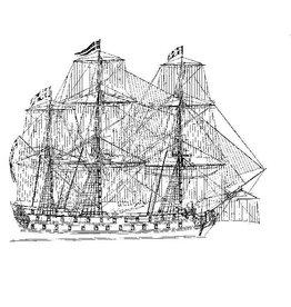NVM 10.01.012 18e eeuws oorlogschip