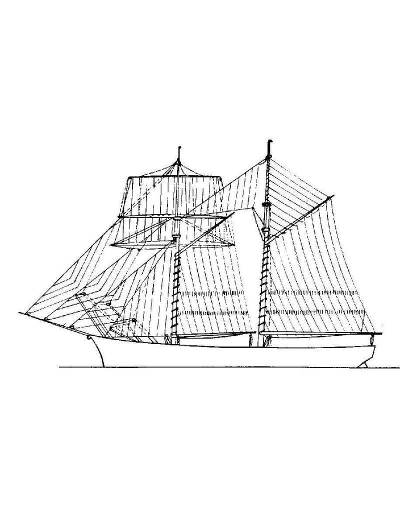 NVM 10.02.001 Topzeilschoener (19e eeuw)