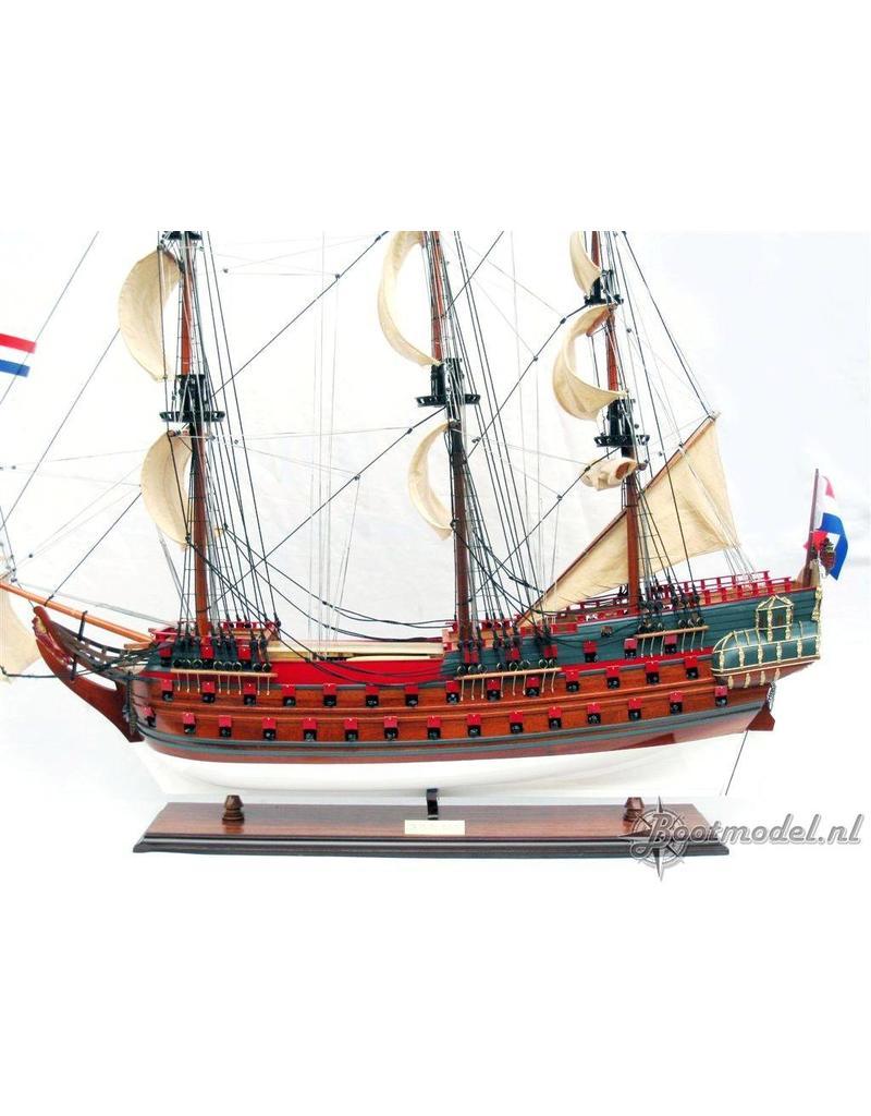 """NVM 10.01.006B """"7 Provincien"""" (1665) (II) zeil- en tuigageplan"""