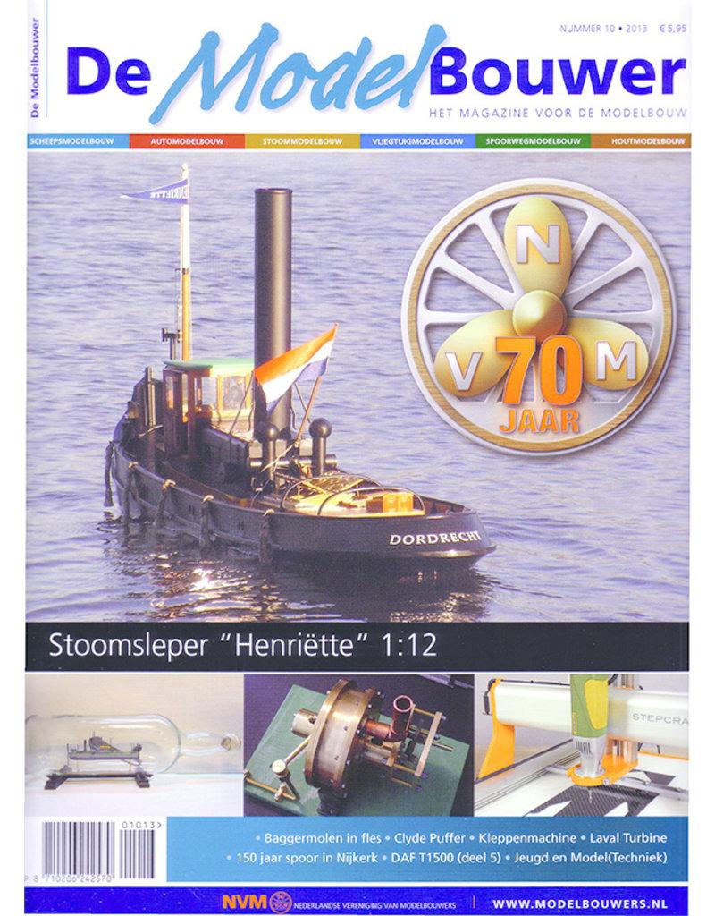 """NVM 95.13.010 Jaargang """"De Modelbouwer"""" Editie : 13.010"""