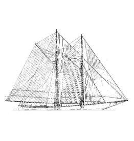 NVM 10.03.018 Visserijschoener van de Grote Banken (ca 1900)