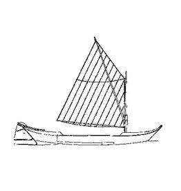 NVM 10.05.004 Roelofarendsveense praam (eind 19e eeuw)
