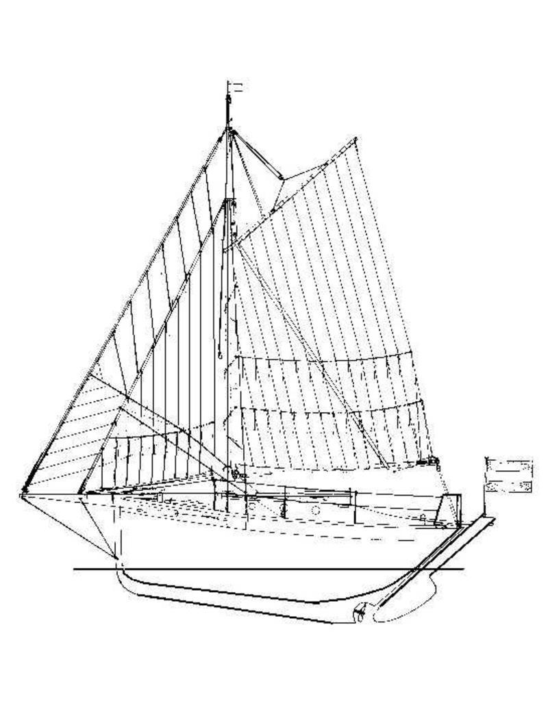 "NVM 10.06.008 plezierjacht ""Paul EugÌÎåÂne"" (begin 20e eeuw)"