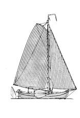 """NVM 10.06.012 Friese boeier """"Constanter"""" (1877)"""