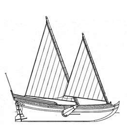 NVM 10.06.017 Speeljacht volgens Nicolaas Witsen (1671)