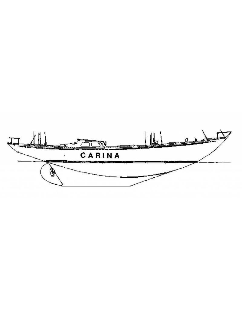 "NVM 10.08.012 zeiljacht ""Carina"""