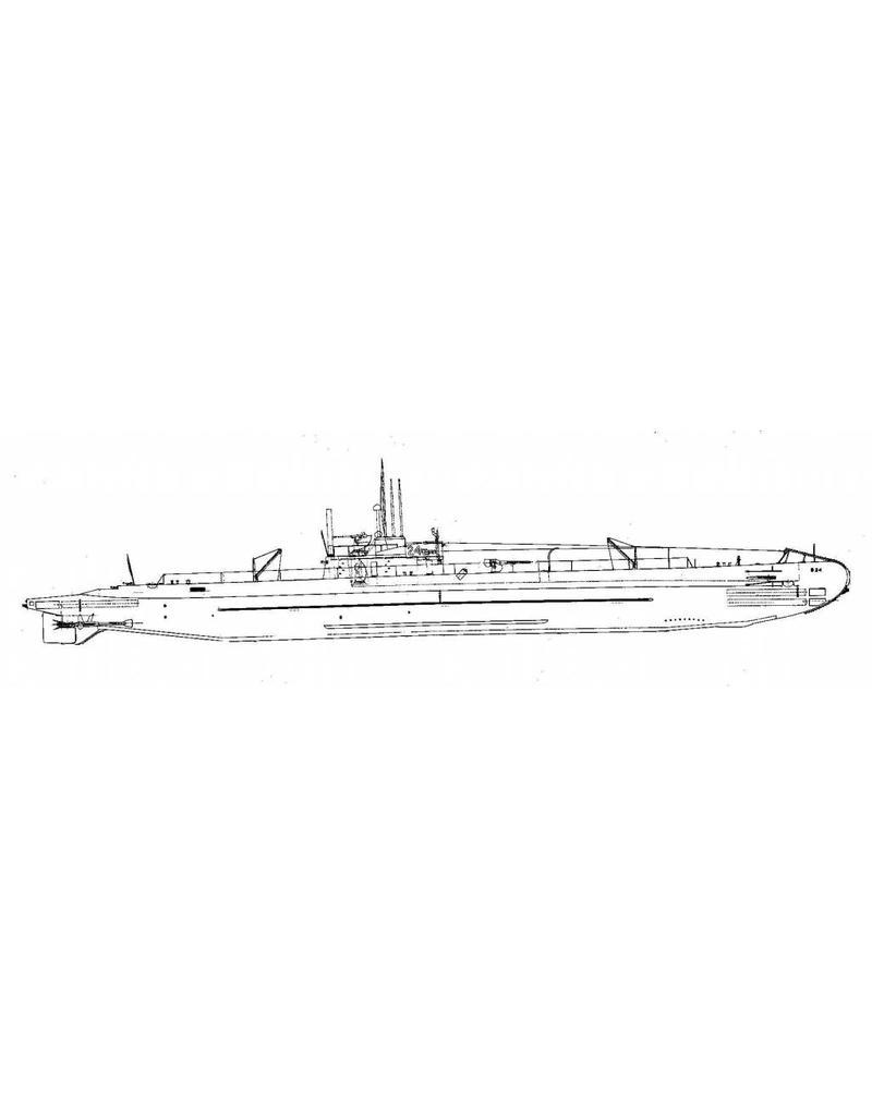 "NVM 10.11.039 HrMs onderzeeboot ""0 24"" (1940) ex ""K XXIV"""