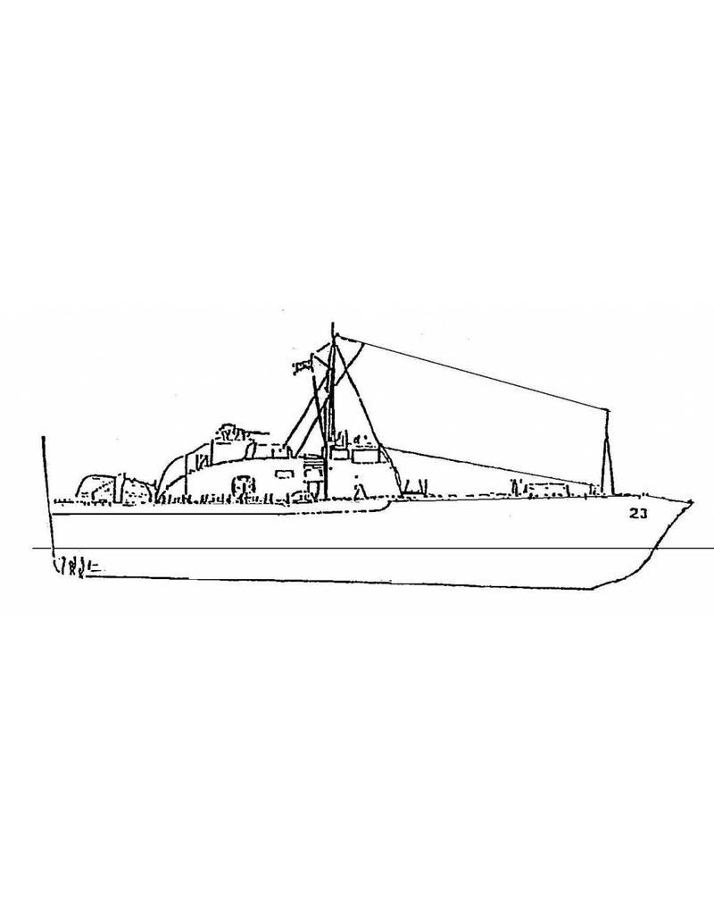 NVM 10.11.065 Anti Submarine boat