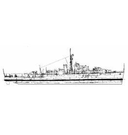 "NVM 10.11.095 fregat HMS ""Amethyst"" F116 (1943) na herclassificatie; ex Modified ""Black Swan"""