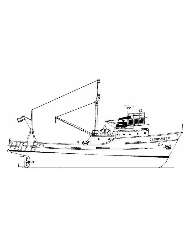 """NVM 10.13.004 hektrawler """"Clearwater"""" (1963) - Shamrock Shipping Co, Dublin"""