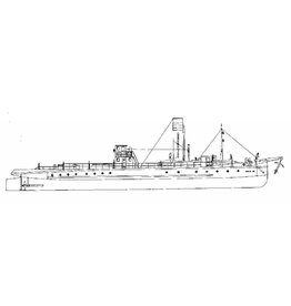 "NVM 10.14.035 dubbelschroef rijnsleepboot ss ""Baden-XII"""