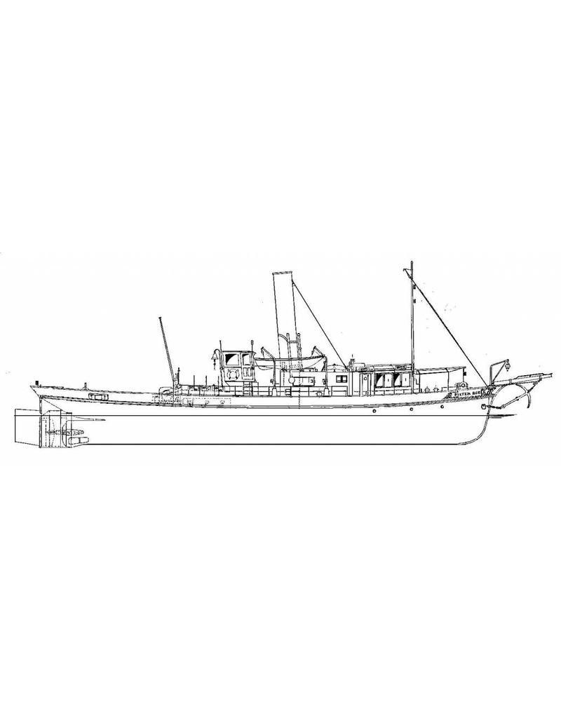 "NVM 10.14.037 riviersleepb. ss ""Pieter Boele"" (1893) - ex ""Wacht am Rhein VIII"" - St. BM.Leuvehaven"
