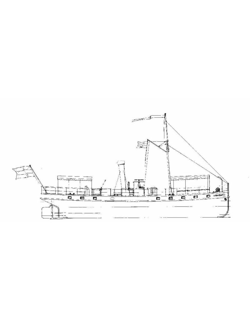 "NVM 10.15.011 rivierpassagierschip ss ""Concordia"" (1878) - Kralingse Stoomboot Vereeniging"