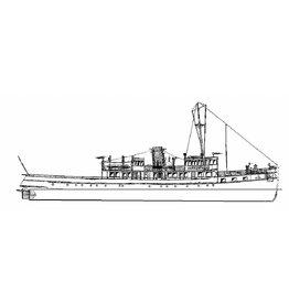 "NVM 10.15.028 veerboot ms ""Koningin Emma"" (1933) - Prov. Stoomboot Diensten"