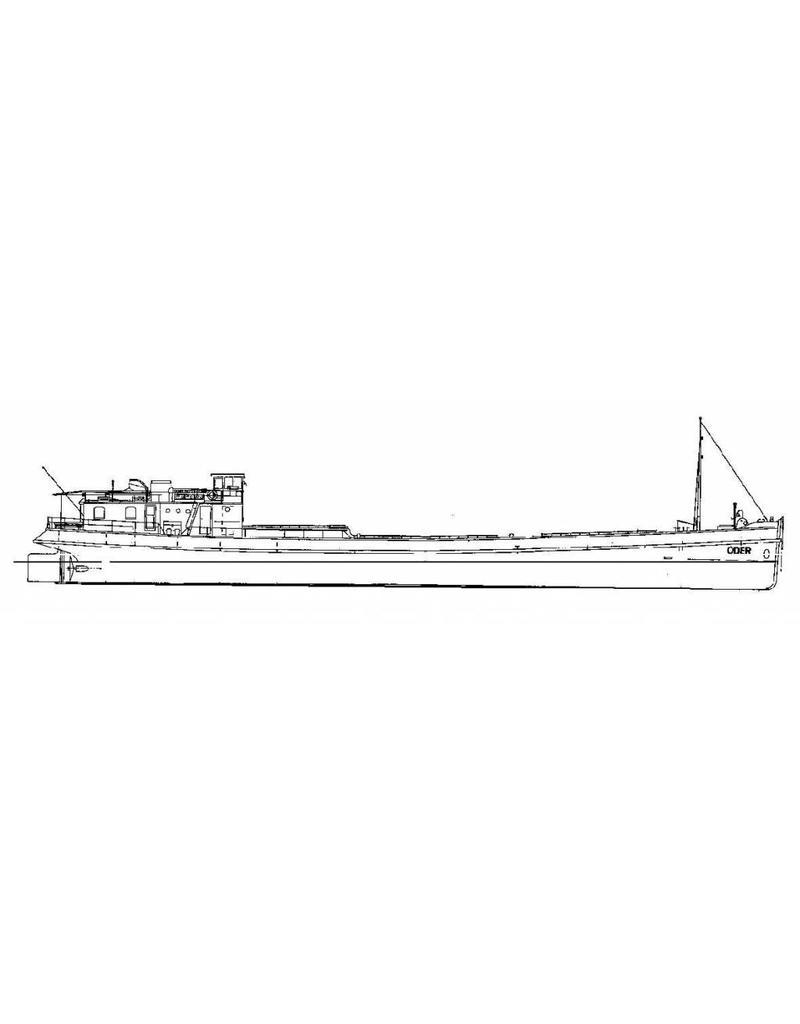 """NVM 10.15.047 binnenvaartschip ms """"Oder"""" (1937) - NV Vola; ex ss """"Werner"""""""