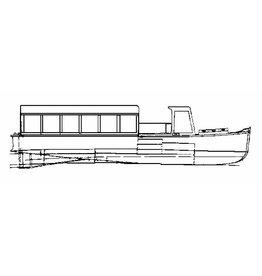 NVM 10.15.054 veerboot, rondvaartboot