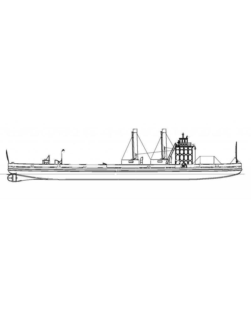 NVM 10.15.063 Spoorpont Enkhuizen - Stavoren (1909) - HSM / Rederij Bosman