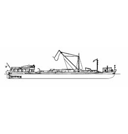 NVM 10.15.064 Riviertanker Veldhoven (1955) - VT; (1974) VT/ Pieter Bon; 1980 verbouwd tot vrachtschip