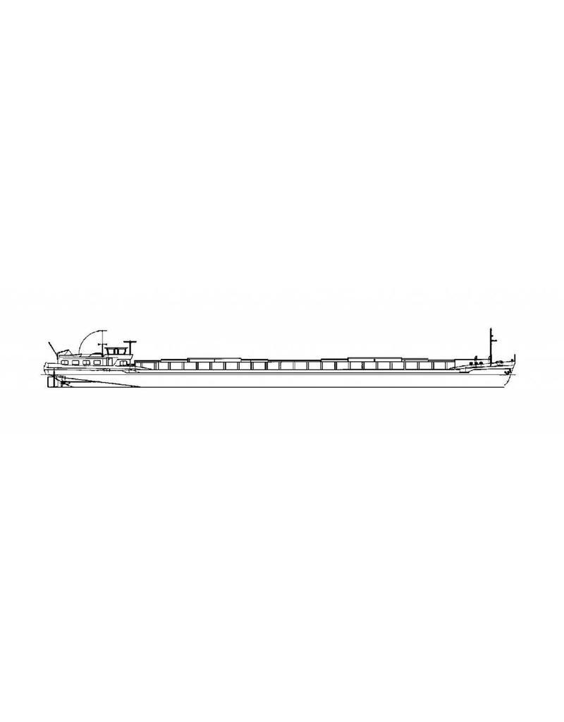 NVM 10.15.069 motorvrachtschip Fuga (1962) - Rijn/Kan. Reederij, Antwerpen; (2008 Apache - Lechantre