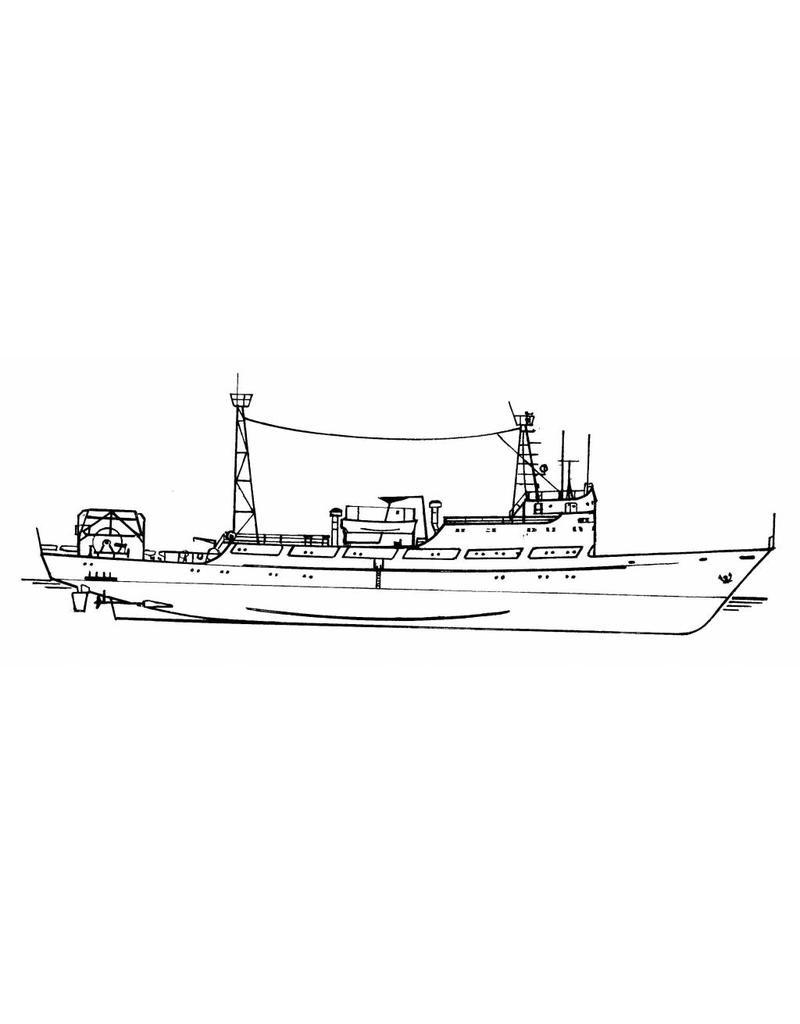 NVM 10.18.028 onderzoeksvaartuig ms Fen Dou no. 5
