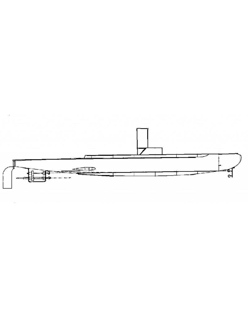 NVM 10.19.008 onderzeeboot; werkend beginnersmodel