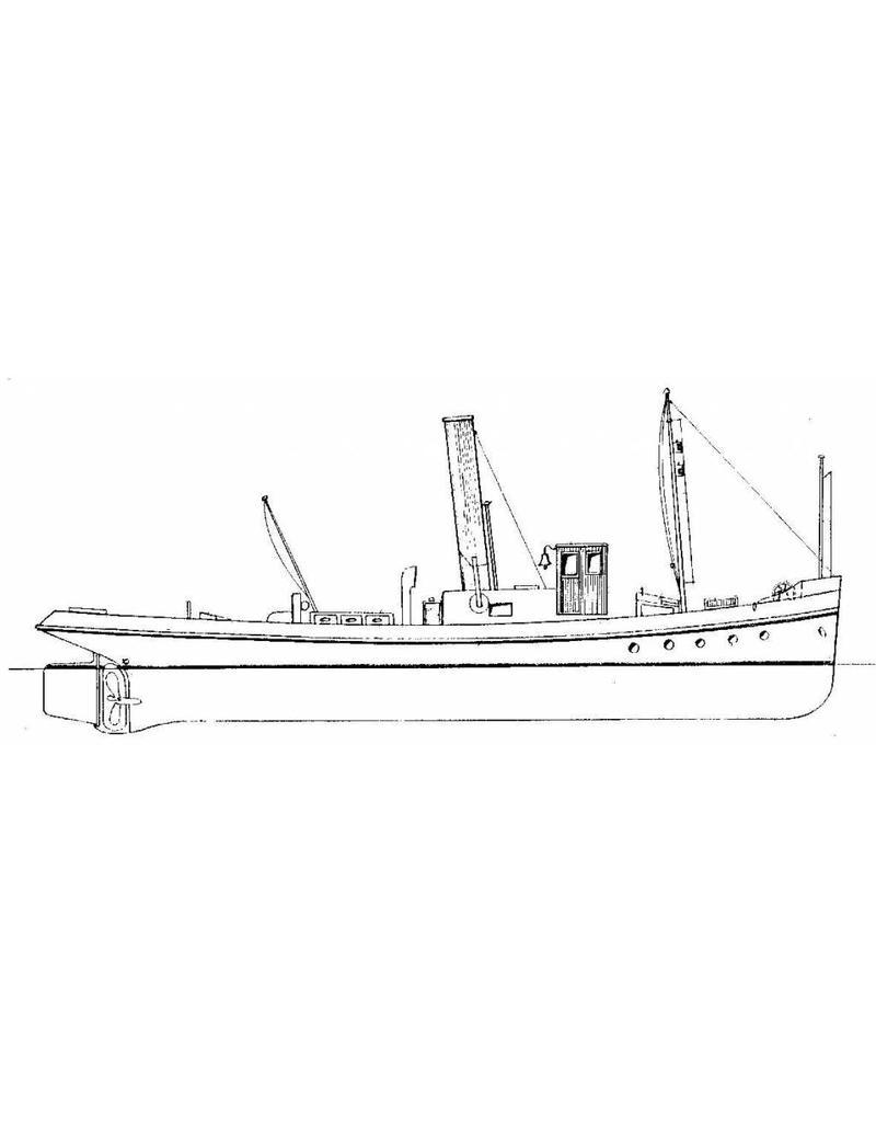 NVM 10.20.002 rivier sleepboot, stoomvrachtboot en stoomtrawler