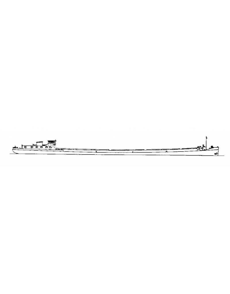 """NVM 10.20.029 Rijnaak ms """"Staatsmijn Beatrix"""" (1955) - W. van Driels Stoomboot & Transp.ondern."""