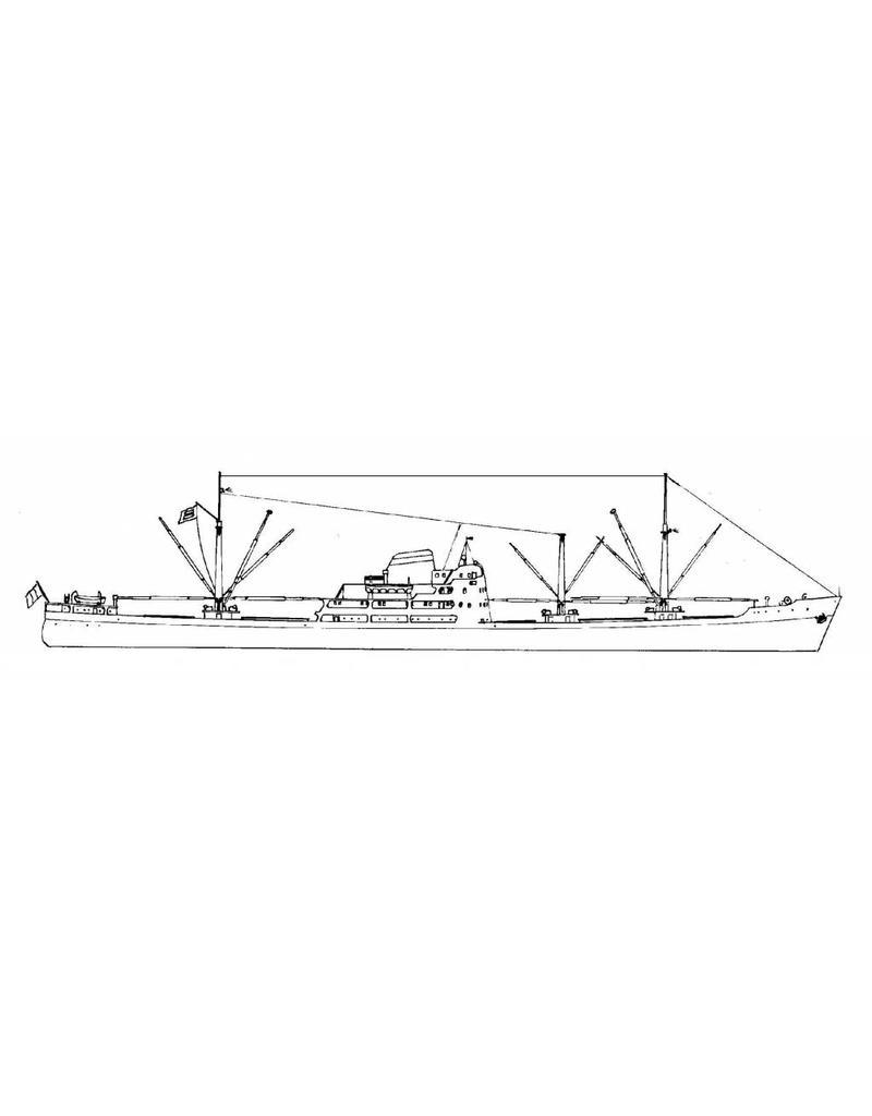 """NVM 10.20.047 vrachtschip ms """"Ville de Djibouti"""" (1955) - CGM"""