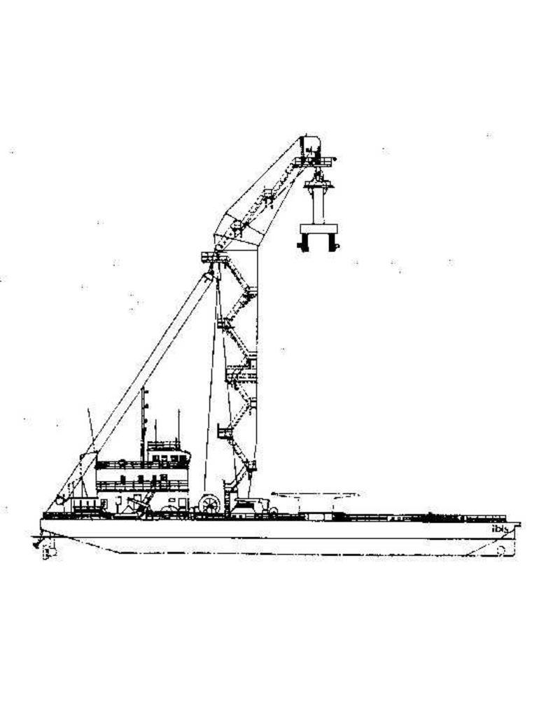 """NVM 10.20.076 drijvende bok """"Ibis"""""""