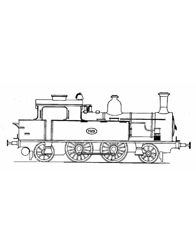 NVM 20.00.005 tenderlocomotief NS 7100 voor spoor H0