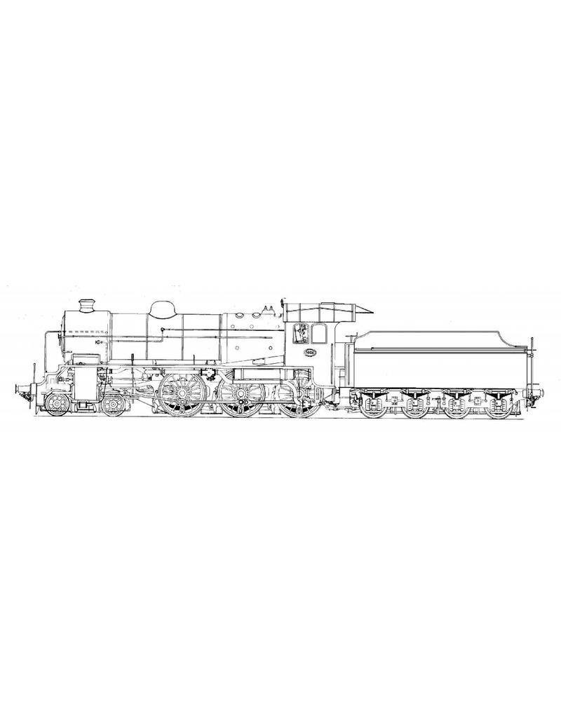 NVM 20.00.009 sneltreinlocomotief NS 3900 voor spoor H0