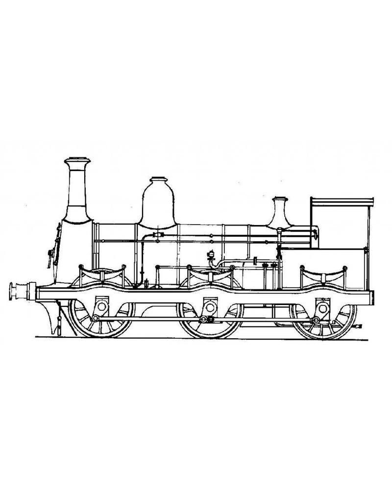 NVM 20.00.011 goederenlocomotief NS 2900 - ex Staatsspoor voor spoor 0