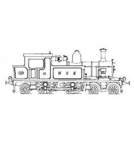 NVM 20.00.017 tenderlocomotief NS 5403 - in NCS uitvoering (NCS 63) voor spoor H0