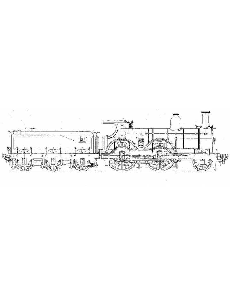 NVM 20.00.046 1-B sneltreinlocomotief NS 1301-1475 (SS 301-475) voor spoor 0