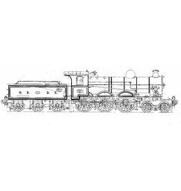 NVM 20.00.050 2-C-sneltreinlocomotief NS 3501-3508 (NBDS 30-37)