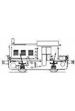 """NVM 20.02.001 Locomotor NS 200 - (""""Sik"""") voor spoor 0"""