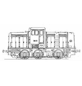 NVM 20.02.007 Diesellocomotief voor Staatsmijnen voor spoor H0