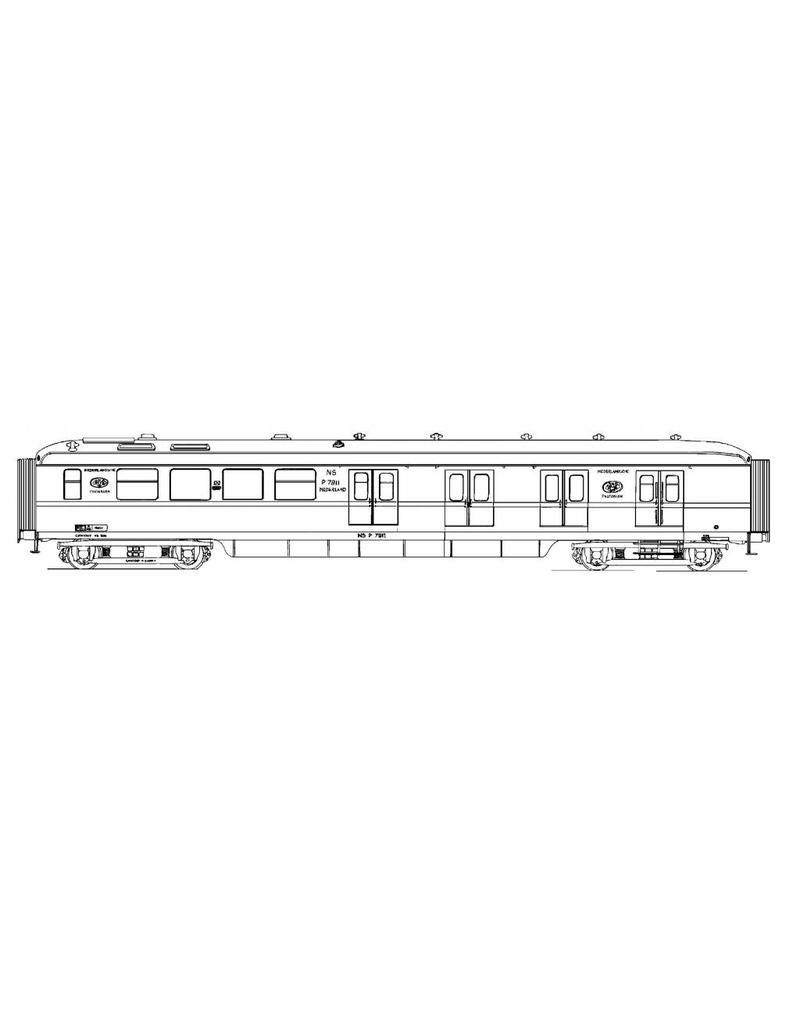 NVM 20.05.003 postrijtuig Pd 7911-7920 voor spoor 0