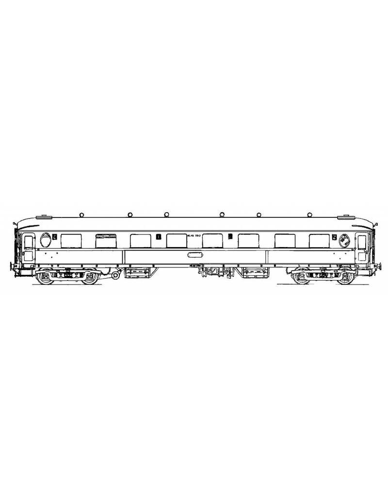"""NVM 20.05.004 D-rijtuig ABd 7210-7221 - (""""Ovalen venster"""") voor spoor 0"""