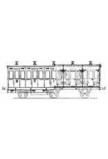 NVM 20.05.009 gemengd rijtuig 1e en 2e kl. 184-214 HIJSM voor spoor 0