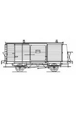 NVM 20.05.022 HIJSM bagagewagen 1488 voor spoor 0