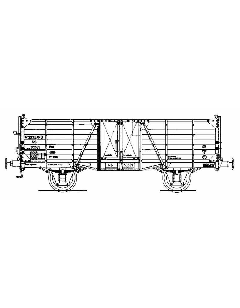 NVM 20.06.010 20 tons open goederenwagen NS gtmk56261 voor spoor I