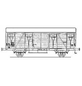NVM 20.06.016 20 tons gesloten goederenwagen NS s-cho7130 voor spoor 0
