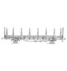 NVM 20.06.017 20 tons rongenwagen NS S-LWO 84109 voor spoor 0