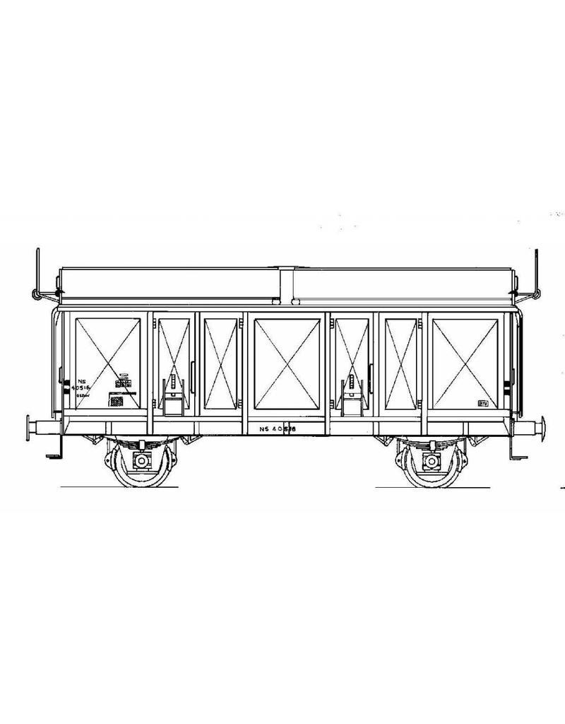 NVM 20.06.020 schuifdakwagen NS GSDW 40501-40525 voor spoor 0