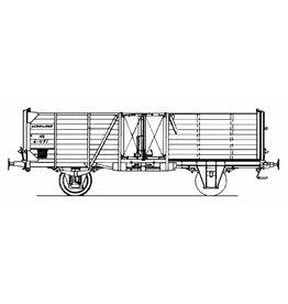 NVM 20.06.038 20 tons open goederenwagen NS Gtm(k) 61021-61620 voor spoor 0